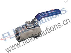 1PC Threaded Ball Valve 1000WOG